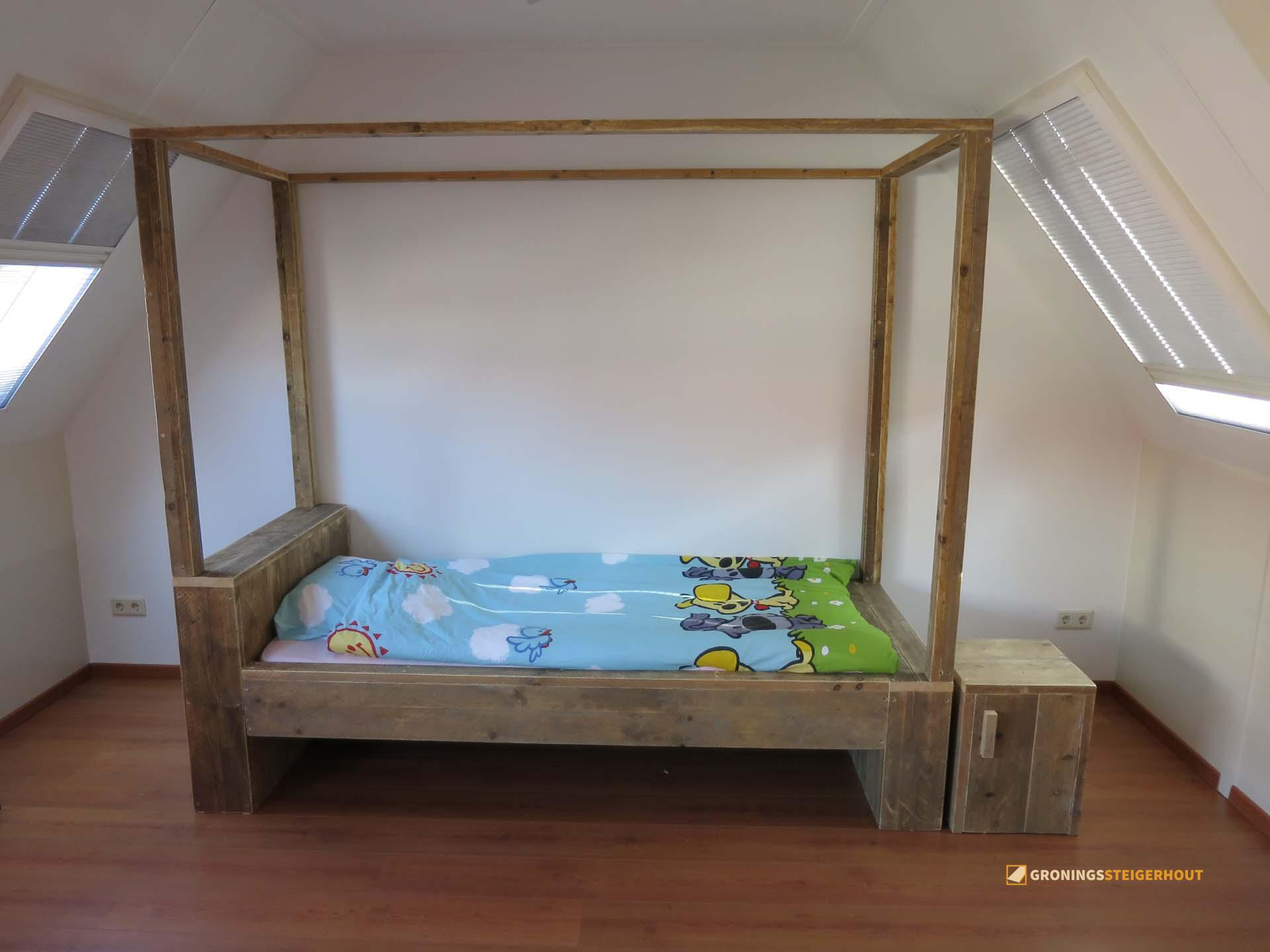 Slaapkamer | Gronings Steigerhout